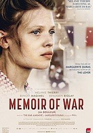 "Movie poster for ""MEMOIR OF WAR"""