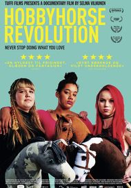 "Movie poster for ""HOBBYHORSE REVOLUTION"""