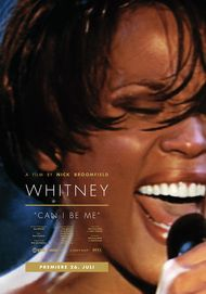 "Movie poster for ""WHITNEY: CAN I BE ME"""