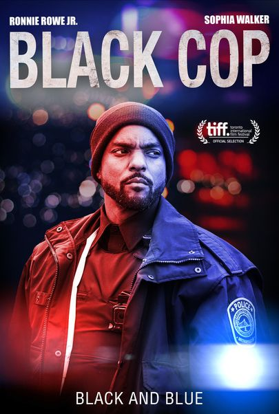 """Movie poster for """"BLACK COP"""""""