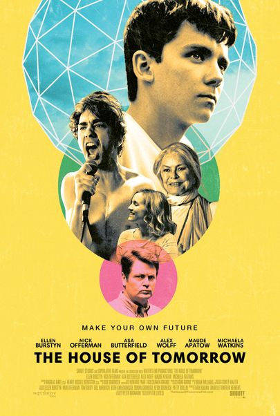 """Movie poster for """"THE HOUSE OF TOMORROW"""""""