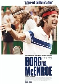 "Movie poster for ""BORG VS McENROE"""