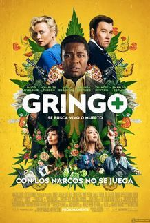 """Movie poster for """"GRINGO"""""""