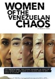 "Movie poster for ""WOMEN OF THE VENEZUELAN CHAOS"""