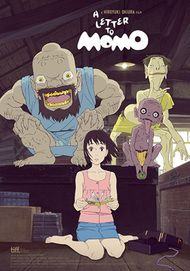 "Movie poster for "" A LETTER TO MOMO"""