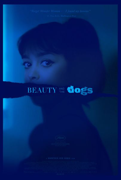"""Movie poster for """"BEAUTY AND THE DOGS"""""""