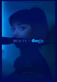 "Movie poster for ""BEAUTY AND THE DOGS"""