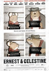 "Movie poster for ""ERNEST & CELESTINE"""