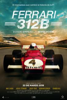"""Movie poster for """"FERRARI 312B: Where the revolution begins"""""""