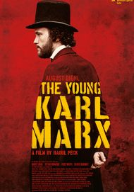 "Movie poster for ""YOUNG KARL MARX"""