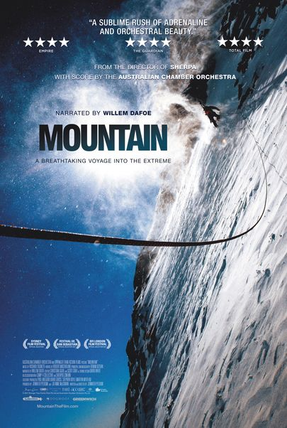 """Movie poster for """"MOUNTAIN"""""""