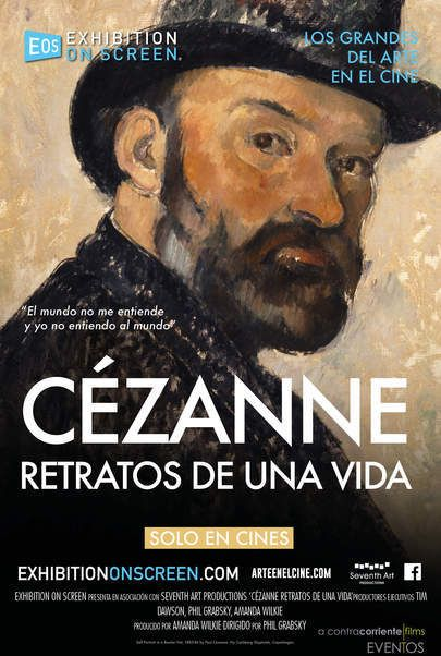 """Movie poster for """"CEZANNE - PORTRAITS OF A LIFE"""""""