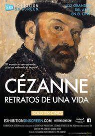 """Póster para """"CEZANNE - RETRATOS DE UNA VIDA"""""""