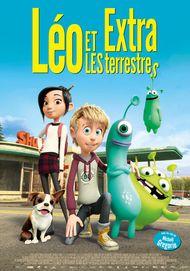 """Affiche du film """"LEO ET LES EXTRATERRESTRES"""""""