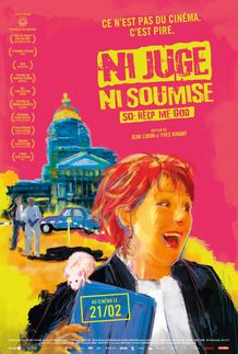 "Movie poster for ""NI JUGE, NI SOUMISE"""