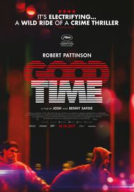 "Affiche du film ""GOOD TIME"""