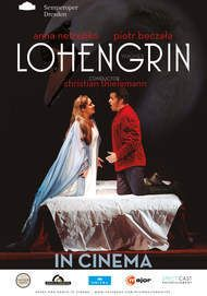 "Movie poster for ""LOHENGRIN DRESDEN"""