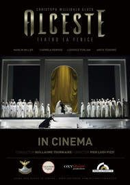 "Movie poster for ""ALCESTE LA FENICE"""