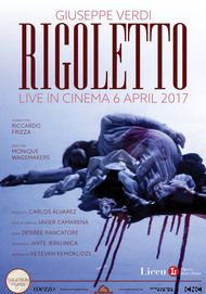 "Movie poster for ""RIGOLETTO LICEU"""