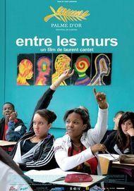 """Movie poster for """"ENTRE LES MURS"""""""
