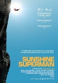 "Movie poster for ""SUNSHINE SUPERMAN"""