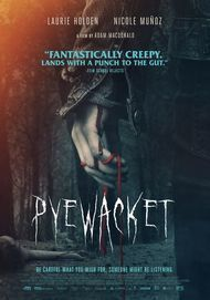 "Movie poster for ""PYEWACKET"""