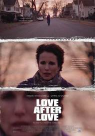 "Movie poster for ""LOVE AFTER LOVE"""