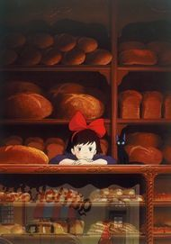 "Movie poster for ""KIKI'S DELIVERY SERVICE"""