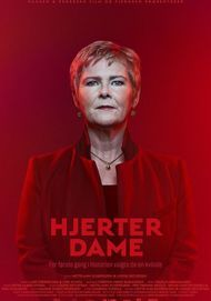 "Movie poster for ""HJERTER DAME"""