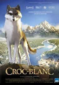 "Affiche du film ""CROC BLANC"""