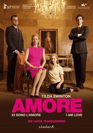 """Movie poster for """"IO SONO L'AMORE"""""""