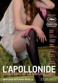 """Movie poster for """"L'APOLLONIDE - SOUVENIRS DE LA MAISON CLOSE"""""""
