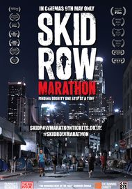 "Movie poster for ""SKID ROW MARATHON"""