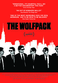 "Movie poster for ""THE WOLFPACK"""