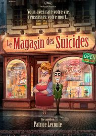 "Movie poster for ""LE MAGASIN DES SUICIDES"""