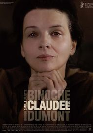 "Movie poster for ""CAMILLE CLAUDEL 1915"""