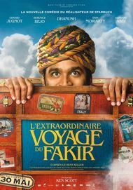 """Movie poster for """"THE EXTRAORDINARY JOURNEY OF THE FAKIR"""""""