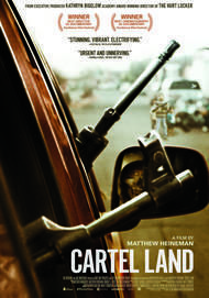 "Movie poster for ""CARTEL LAND"""