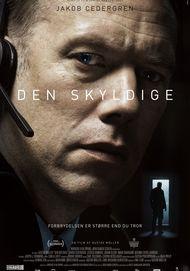 """Movie poster for """"DEN SKYLDIGE"""""""