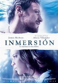 """Movie poster for """"SUBMERGENCE"""""""