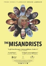 "Movie poster for ""THE MISANDRISTS"""