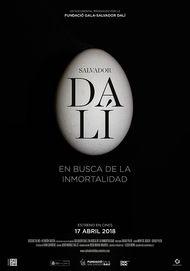 """Póster para """"SALVADOR DALI. EN BUSCA DE LA INMORTALIDAD"""""""