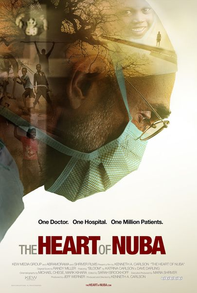 """Movie poster for """"THE HEART OF NUBA"""""""