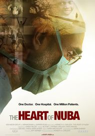 "Movie poster for ""THE HEART OF NUBA"""