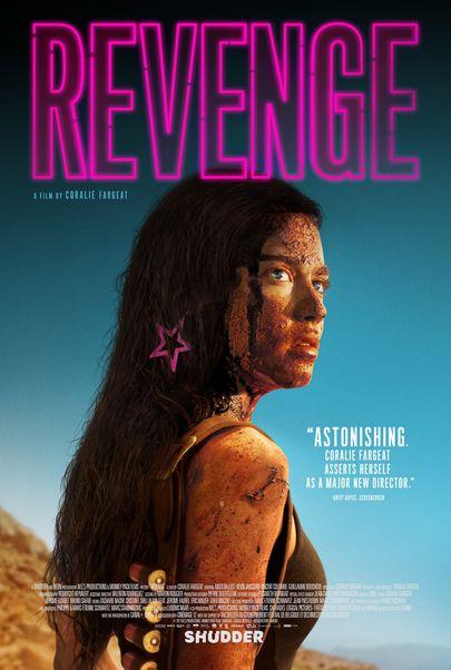 """Movie poster for """"REVENGE"""""""