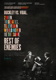 "Movie poster for ""BEST OF ENEMIES"""