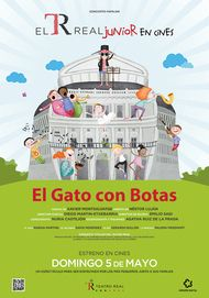 "Movie poster for ""EL GATO CON BOTAS"""