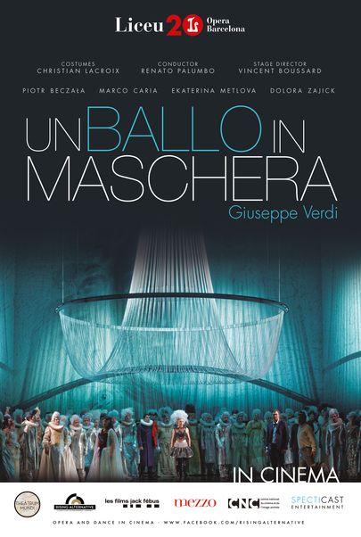 "Movie poster for ""UN BALLO IN MASCHERA LICEU"""