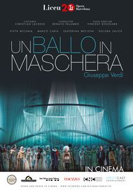 "Movie poster for ""UN BALLO IN MASCHERA LICEU"""