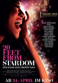 """Filmplakat für """"20 Feet from Stardom"""""""